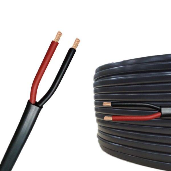 Flachkabel 2 x 0,75 mm²  Kfz Kabel 2 polig/adrig Meterware