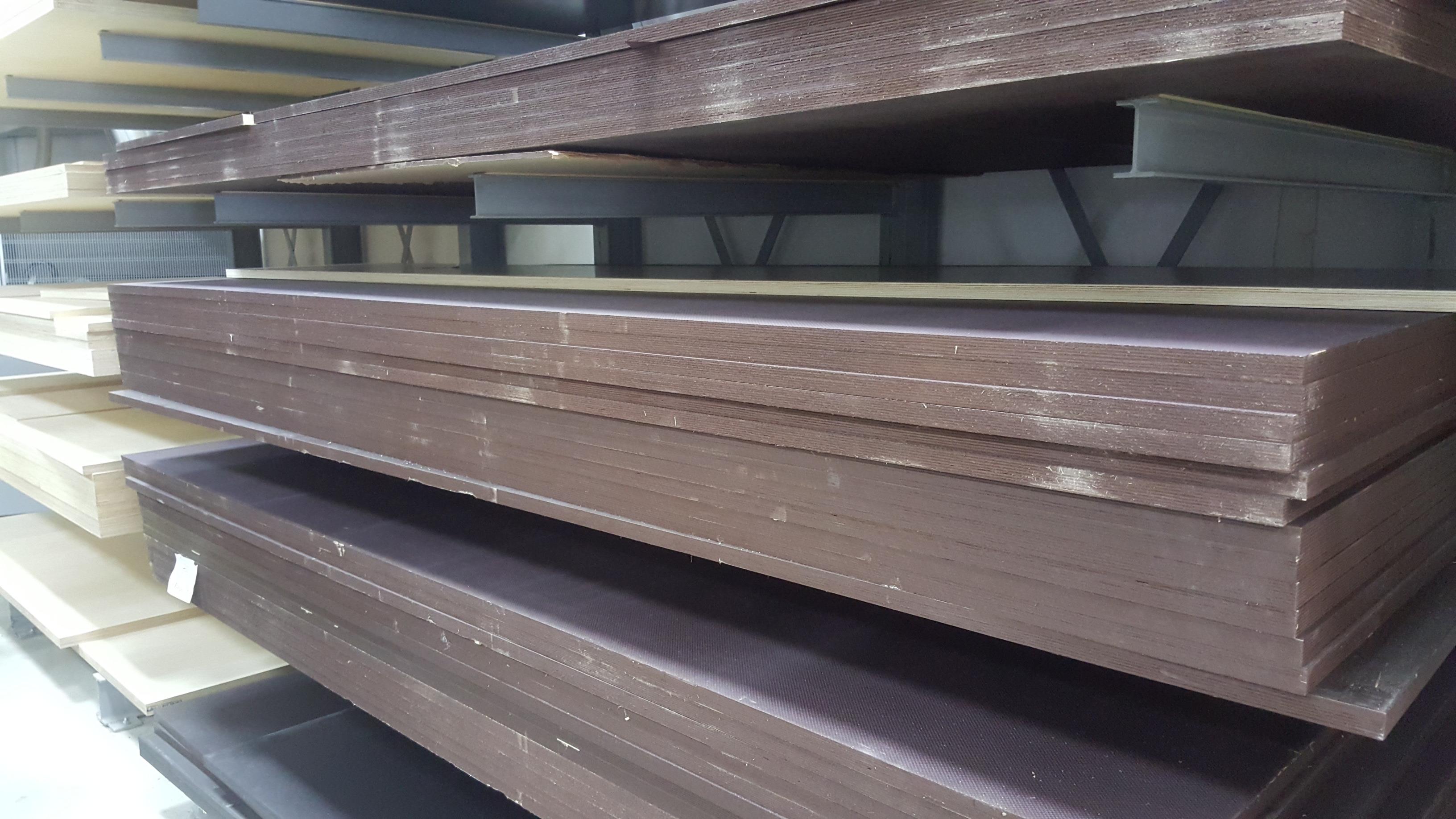 130x10 cm Siebdruckplatte 18mm Zuschnitt Multiplex Birke Holz Bodenplatte